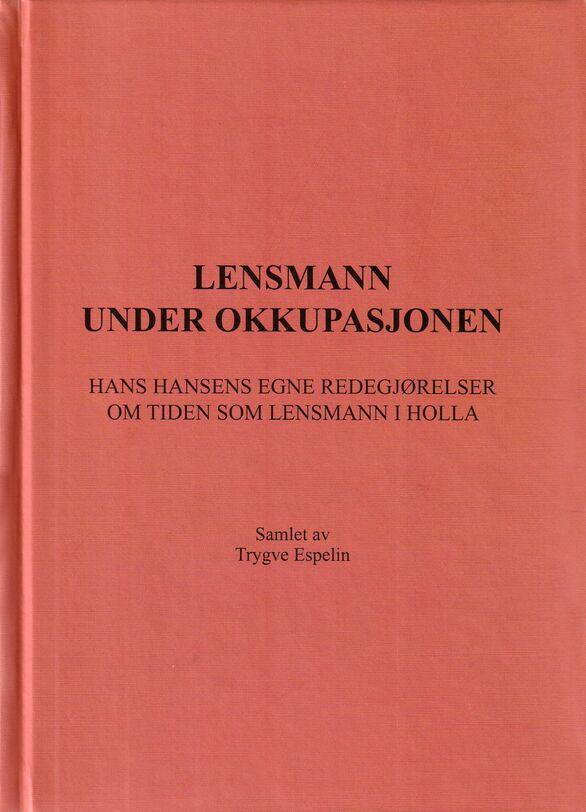 Espelin: Lensmann under okkupasjonen