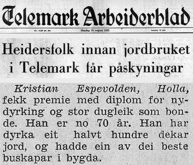 Faksimile fra TA 15.08.1955