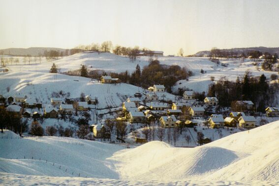 Vesthagan i vinterskrud