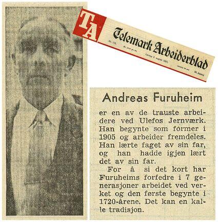 Andreas Furuheim omtalt i TA