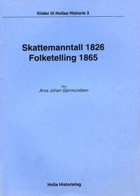 Gjermundsen: Skattemanntall 1826 – Folketelling 1865