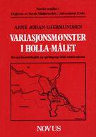 Gjermundsen: Variasjonsmønster i Holla-målet