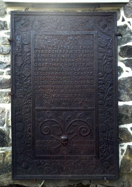 Gravplate fra 1672