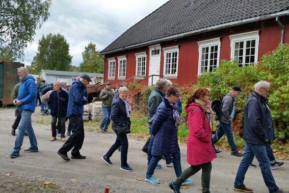 Blant slott og arbeiderboliger på Ulefoss (7)