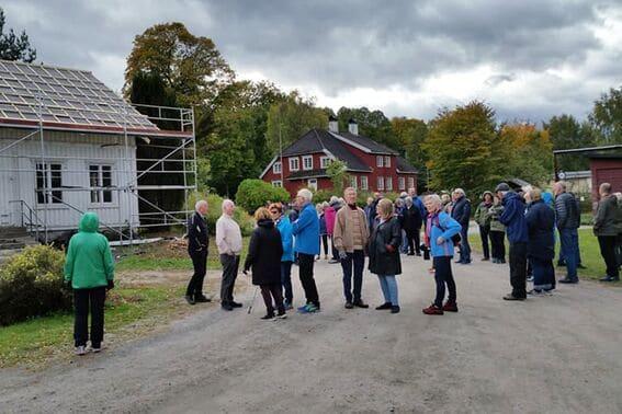 Blant slott og arbeiderboliger på Ulefoss (9)