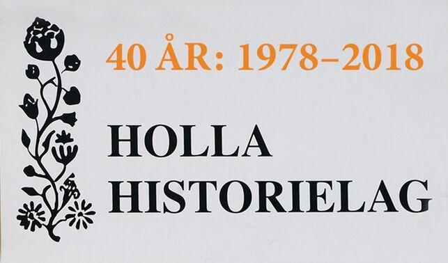 Holla Historielag 40 år