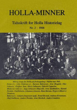 HHL: Holla-Minner 1988 (nr. 2)