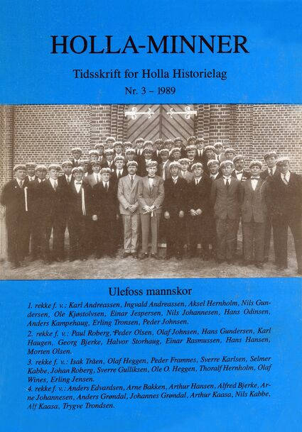 Holla-Minner 1989