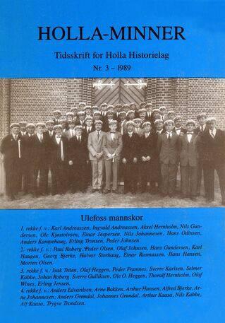 HHL: Holla-Minner 1989 (nr. 3)