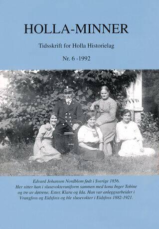 HHL: Holla-Minner 1992 (nr. 6)