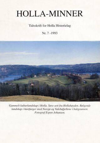 HHL: Holla-Minner 1993 (nr. 7)
