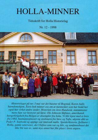 HHL: Holla-Minner 1998 (nr. 12)
