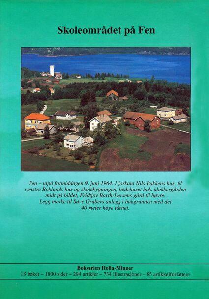 Holla-Minner 1999 (bakside)