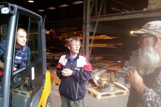 Nyrestaurert ovn på Stallane (2)