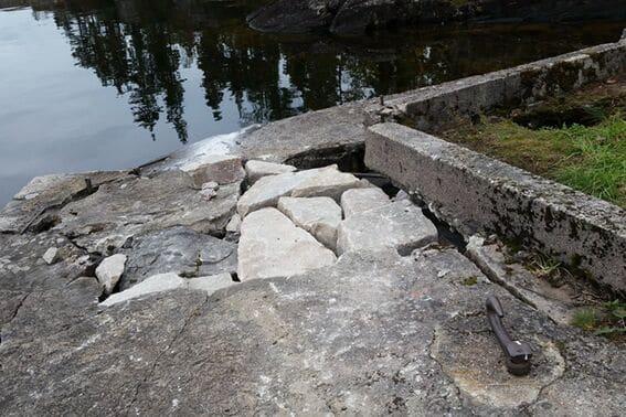 Reparasjon av Romnes brygge (5)
