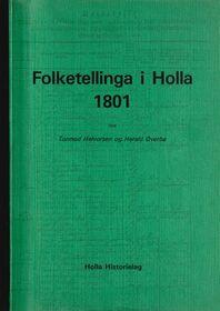 Halvorsen & Øverbø: Folketellinga i Holla 1801