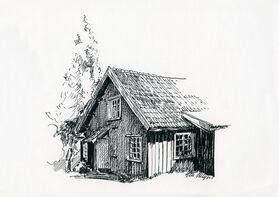 Geir Helgen: Olines hus på Øvre Verket