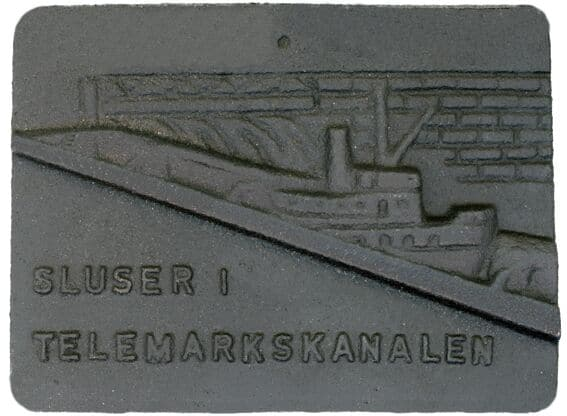 Gunnar Hørthe: Sluser i Telemarkskanalen