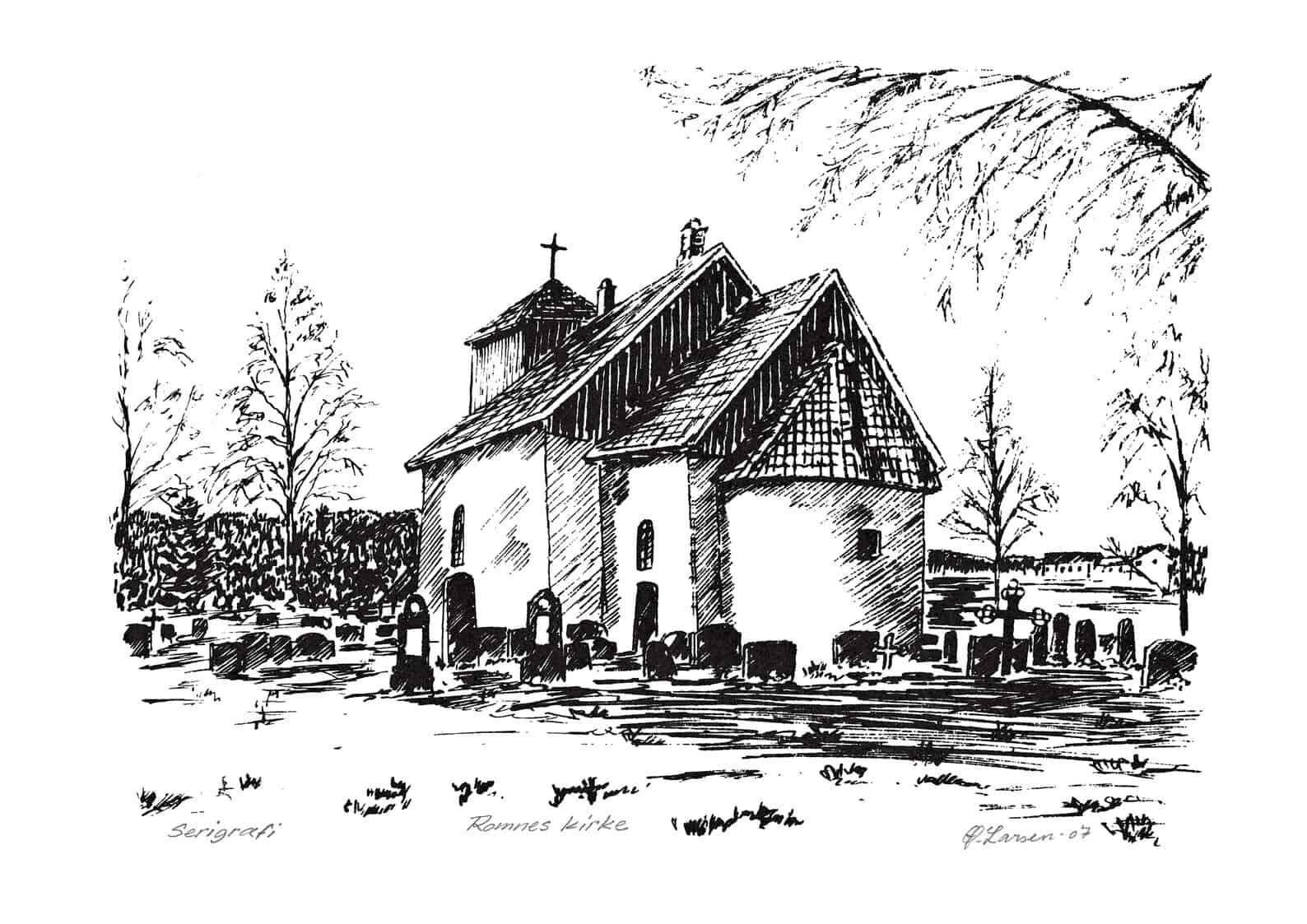 Øyvind Larsen: Romnes kirke (2007)