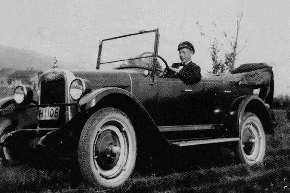 Karl Odden i drosjebilen