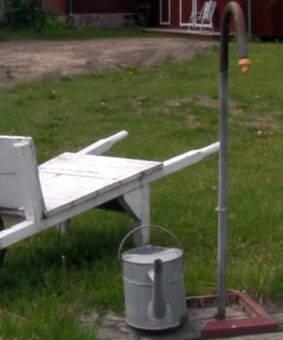 Solvoll: Om ein vannpost kunne snakke