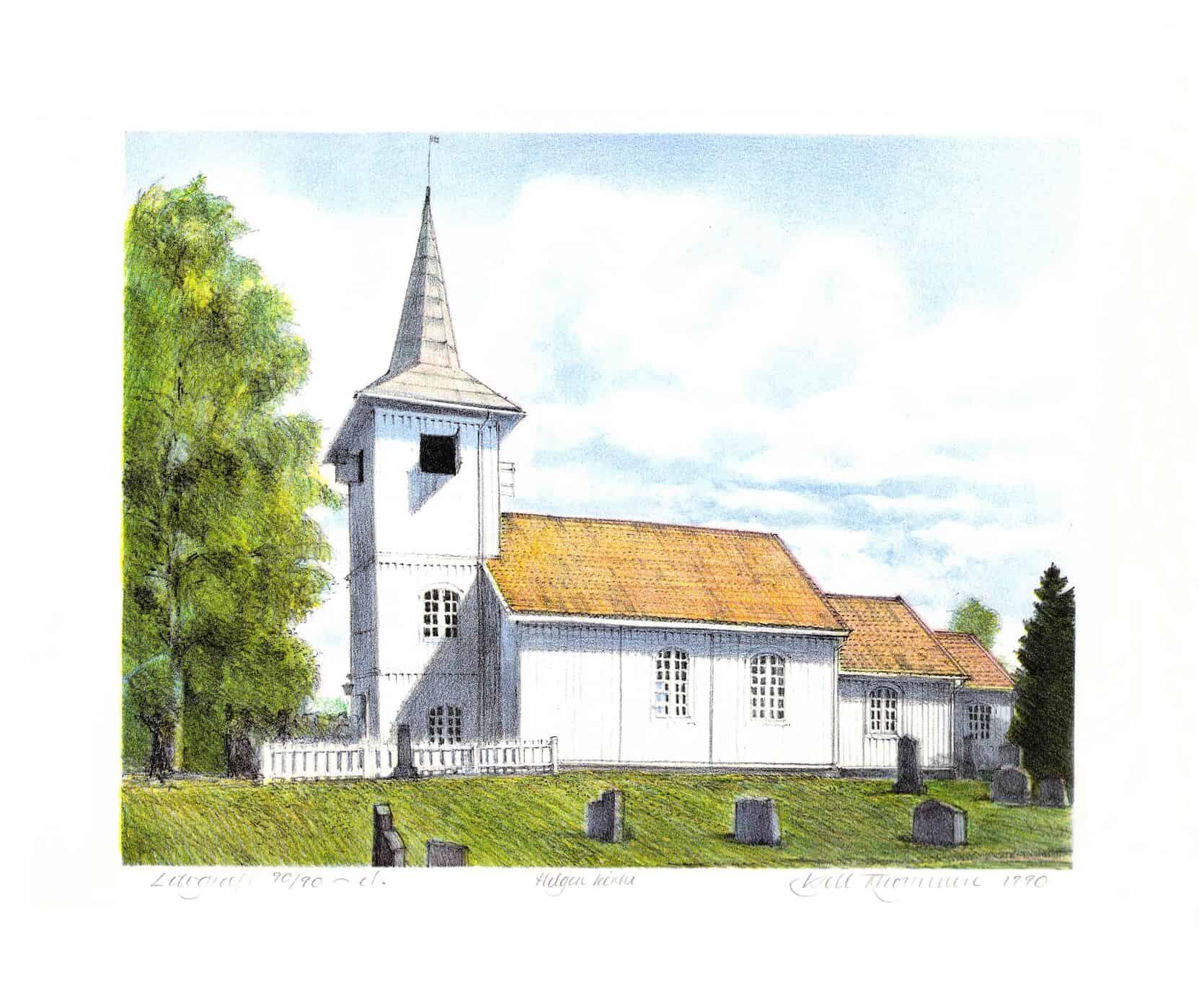 Kjell Thorjussen: Helgen kirke (1990)