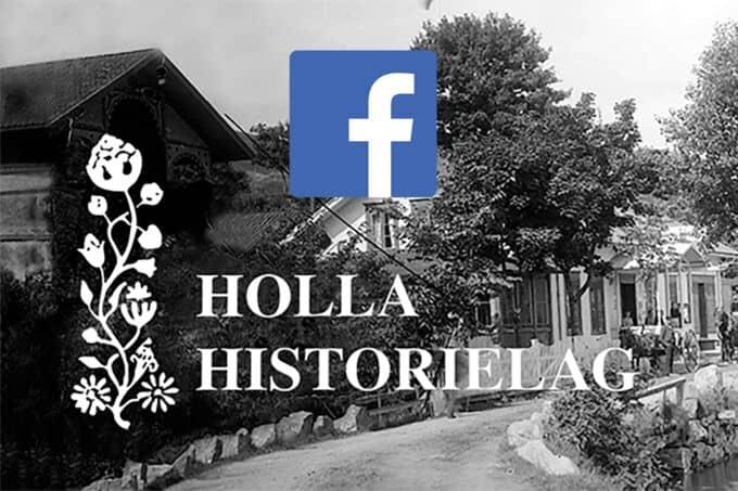 Holla Historielags Facebook-gruppe