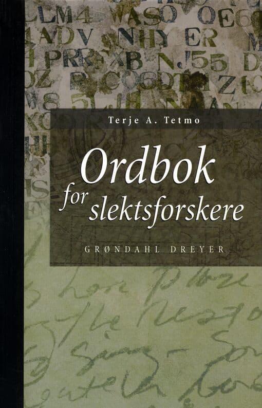 Tetmo: Ordbok for slektsforskere