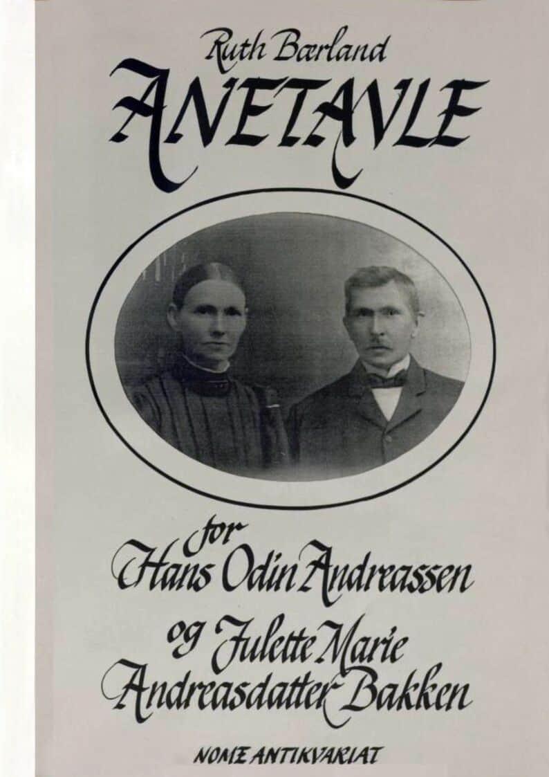 Bærland: Anetavle