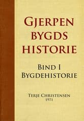 Christensen: Gjerpen bygds historie – bind 1