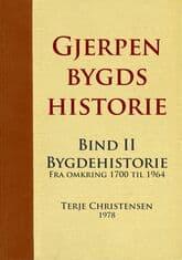Christensen: Gjerpen bygds historie – bind 2