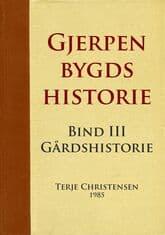 Christensen: Gjerpen bygds historie – bind 3