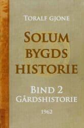 Gjone: Solum bygds historie – bind 2