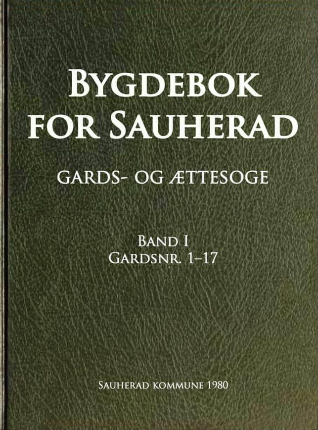 Kirkeby: Bygdebok for Sauherad: gards- og ættesoge: band 1