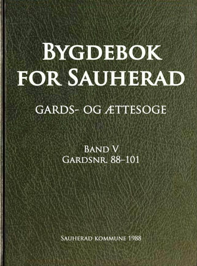 Kirkeby: Bygdebok for Sauherad: gards- og ættesoge: band 5
