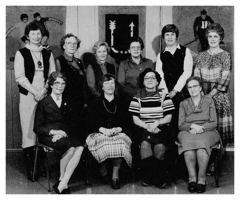 Lederne av USFs damegruppe