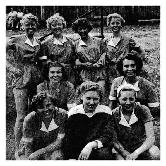USFs damelag 1951