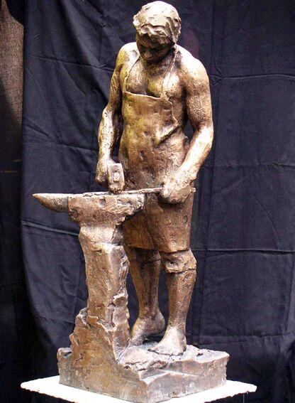 Skulptur av Ferdinand Wyller