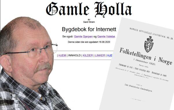 Folketellinga 1920: Holla