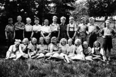 10-12-åringer på Ulefoss 1947
