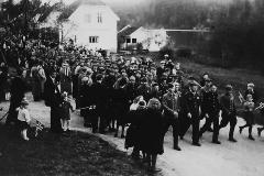 17. mai 1945 med russiske krigsfanger