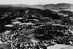 Berget med Bergegata og Haugjordet
