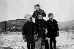 Berget skole 1. kl. 1940