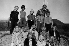 Berget skole 2 klasser 1945