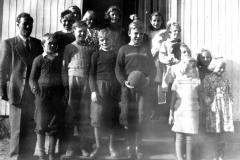 Berget skole ca. 1950