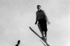 Cato Johnsen i Ishusbakken 1954
