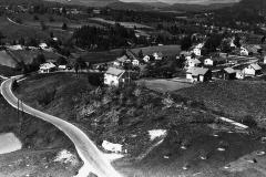 Deler av Tufte og veien opp mot Fen