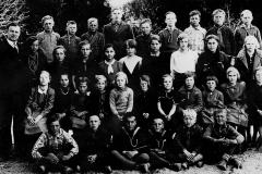 Eidsbygda skole ca. 1932-33