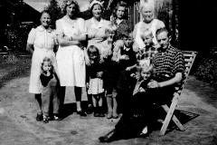 Fam. Johnsen ca. 1946