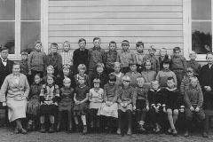 Fen skole - antakelig fra 1920-åra